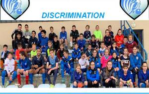 Action U15 P.E.F.: Luttons contre la discrimination